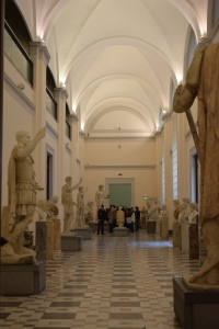 A  shot of the interior of the museum!